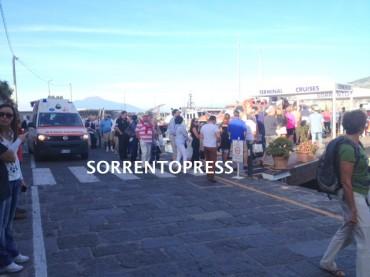 Passeggero ha un malore su una nave da crociera, intervengono i medici del 118 di Sorrento