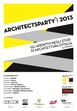 """ArchitectsParty"" riparte da Sorrento"