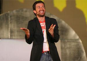Alessandro Siani a sorpresa alle Giornate del Cinema di Sorrento
