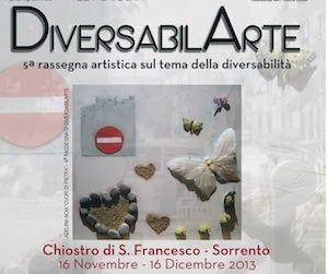 """DiversabilArte"" al via la rassegna al Chiostro di San Francesco"