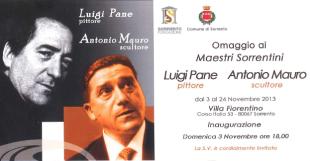 """Villa Fiorentino, tutto pronto per la mostra """"Omaggio ai Maestri sorrentini Luigi Pane e Antonio Mauro"""""""