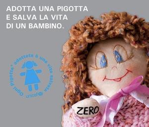 """""""Adotta una Pigotta e salva la vita di un bambino"""" è l'iniziativa dell'Unicef cui aderisce la Pro Loco"""