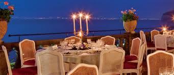"""Stella Michelin al ristorante """"Terrazza Bosquet"""" del Grand Hotel Excelsior Vittoria"""