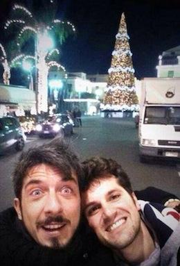 Frank Matano e Paolo Ruffini a Sorrento