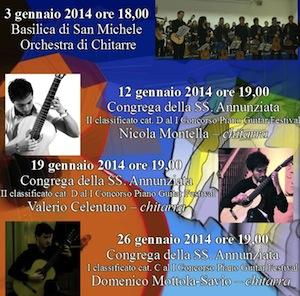Musica, a Piano il terzo appuntamento degli incontri dedicati alla Chitarra con l'artista Valerio Celentano