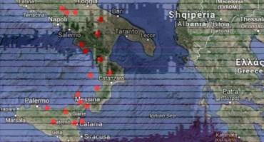 Il Sud trema: 130 scosse in un mese, molte in Campania