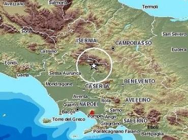 Trema la terra in Campania, scossa avvertita anche in penisola