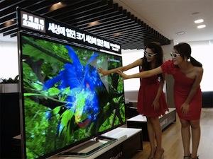 Tv 4k con schermo curvo (e non) fino a 110 pollici