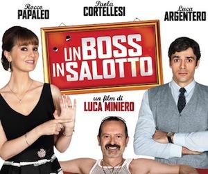 """Al cinema Armida arriva il nuovo film di Luca Miniero """"Un boss in salotto"""""""