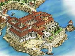 L'antica villa romana della Regina Giovanna rivive grazie all'animazione 3D