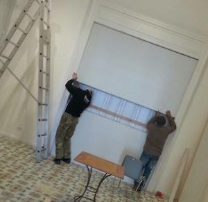 Mario Sironi, iniziato l'allestimento della mostra a Villa Fiorentino