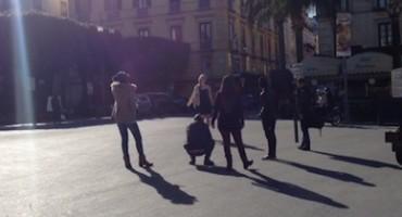 La nostra terra sullo sfondo, fashion blogger pazze di Sorrento