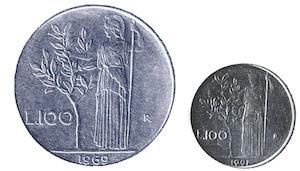 """""""Monete rare"""", la cara vecchia Lira può valere una fortuna"""