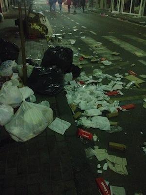 """Atti vandalici nel giorno di Sant'Antonino.  I commercianti: """"Poca sorveglianza"""""""