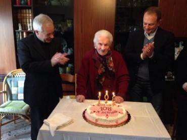 A Sorrento grande festa per i 108 anni di nonna Maria Antonina