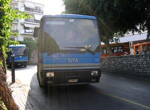 La Sita cambia gli orari degli autobus in penisola