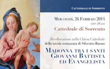 Mercoledì torna nella cattedrale di Sorrento la pala restaurata grazie al Lions Club