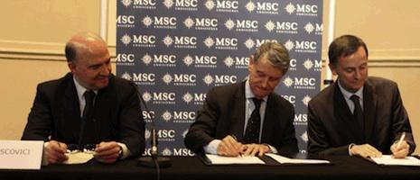 Aponte impreziosisce la flotta di MSC Crociere: entro il 2019 in arrivo altre due navi
