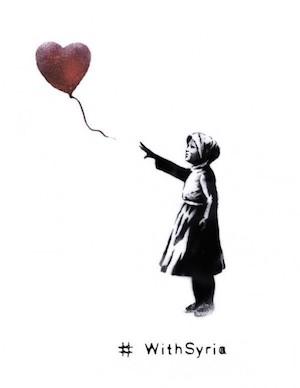Tre anni di guerra in Siria, la provocazione di Banksy