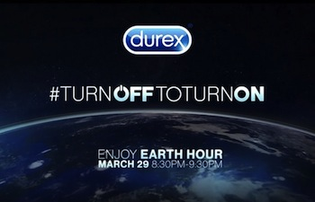 Durex for earth hour