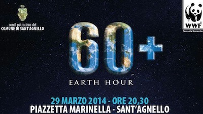 Earth hour Sant'Agnello