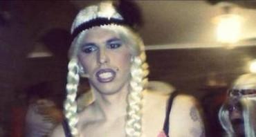 Carnevale: su Facebook le immagini di Hamsik vestito da donna