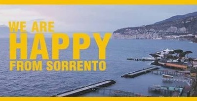 "La mania del video ""we are happy"" contagia Sorrento"