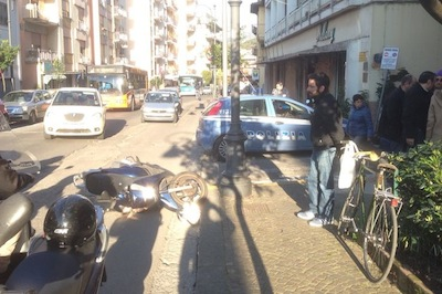 Incidente via Degli Aranci