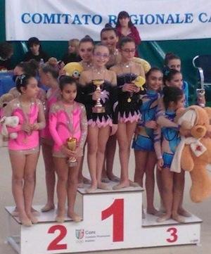 Ginnastica, le giovanissime atlete sorrentine si qualificano per le nazionali di giugno a Pesaro