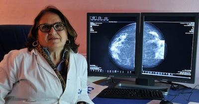 La Dr.ssa Teresa Elefante, radiologo senologo, Responsabile del reparto di Diagnostica Senologica  del CMR Pane