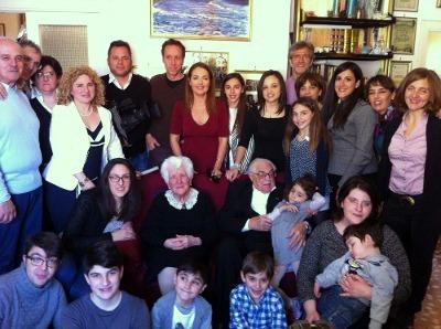 """I coniugi sorrentini Oreste e Maria Attardi su Raiuno a """"La vita in diretta"""""""