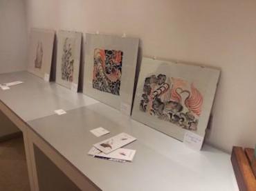 """""""Always Silk"""" la mostra di dipinti su seta dell'artista Filippo Valentini"""