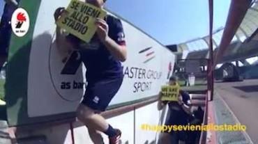 """""""We are happy se vieni allo stadio"""": i calciatori del Bari chiamano a raccolta i tifosi – Guarda video –"""