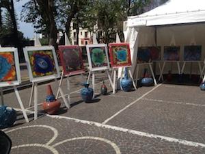"""Una piazza Lauro immersa nell'arte grazie al """"Sorrento Ceramic Festival"""""""