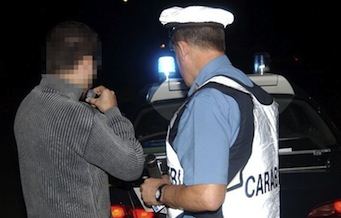 Provoca incidente e fugge perché ubriaco, denunciato 37enne di Massa Lubrense