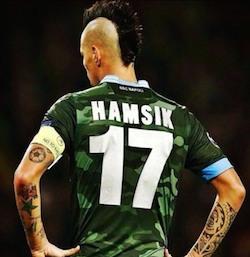 Hamsik, offerta del Manchester United di 30 milioni