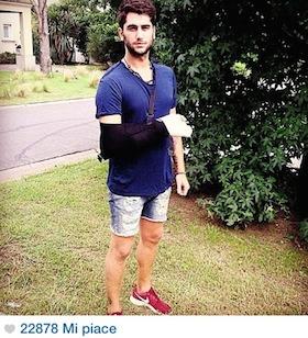 Belen posta su Instagram la foto del fratello Jeremias, il popolo femminile apprezza