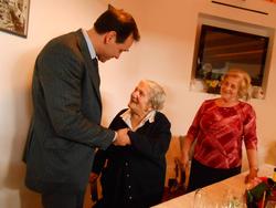 A Piano la festa per i 100 anni di Lucia Vinaccia