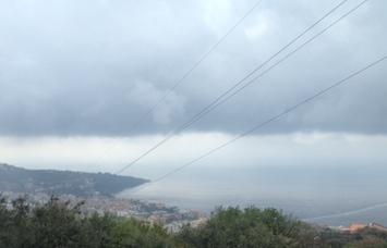 Prorogata fino a domani l'allerta meteo sulla penisola sorrentino-amalfitana