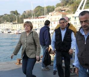 Pasqua ad Ischia per Angela Merkel