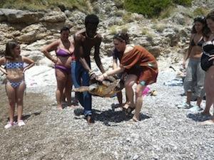 Dall'Europa a Punta Campanella, arrivano i volontari per l'ambiente