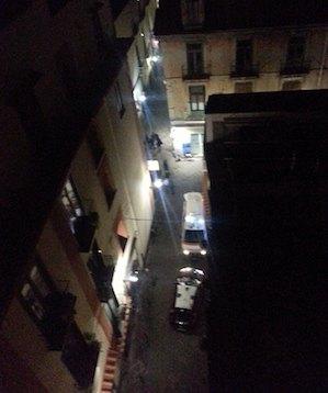 Suicidio nella notte nel centro storico di Sorrento