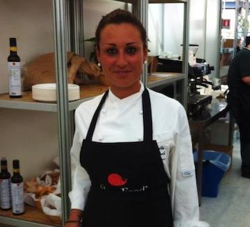 Amelia Mazzola ad #Hell's Kitchen