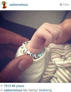 Festa in casa Boateng: Melissa Satta ha dato alla luce il piccolo Maddox