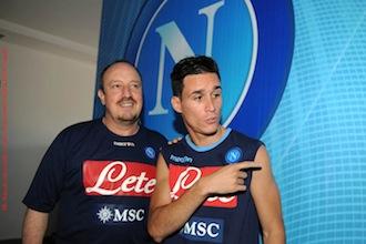 Infortunio per Callejon in allenamento, a rischio la finale di Coppa Italia