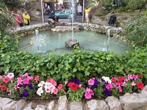 La fontana di Villa Fiorentino si rifà il look