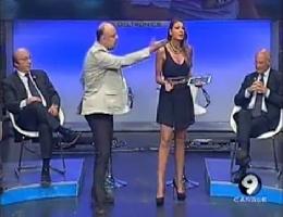 """La lite a """"Goal Show"""" tra De Maggio e la De Rienzo – Guarda Video –"""