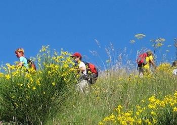 Trekking, domani escursione ad Alberi