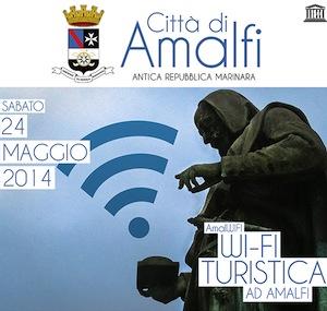 """""""AmalWifi"""", la più grande area wireless della costiera"""
