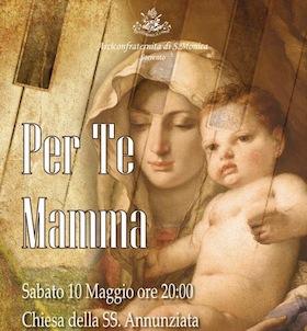 Festa della Mamma: concerto nella chiesa della Santissima Annunziata